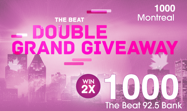 The Double Grand Giveaway