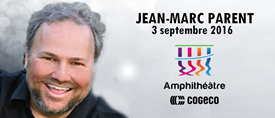 Jean-Marc Parent � l'Amphith��tre Cogeco