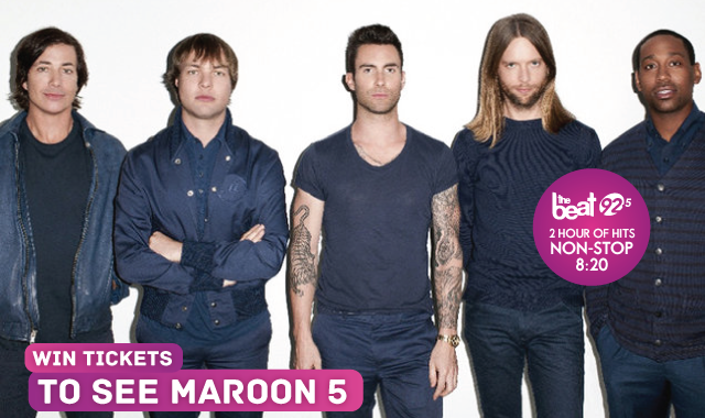 Get your hands on Maroon 5 tickets