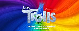 Ta passe familiale pour la premi�re du film Les Trolls!