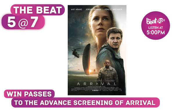 See the advance screening of ARRIVAL