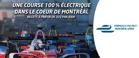 Vivez la Formule E FIA grâce au 106,9 Mauricie !