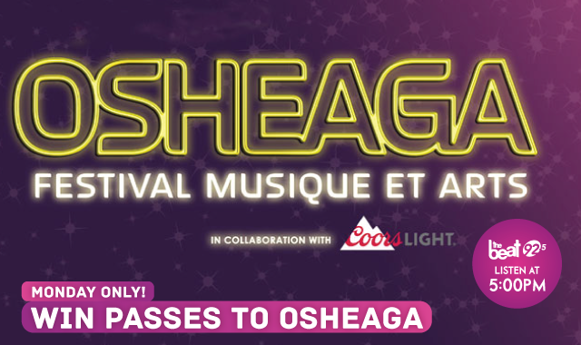 MONDAY ONLY! Win Passes to OSHEAGA