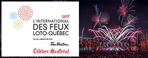 Tes billets pour L'International des Feux Loto-Québec