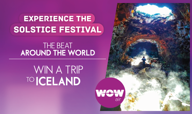 Starting Monday! WIN a trip to Iceland!