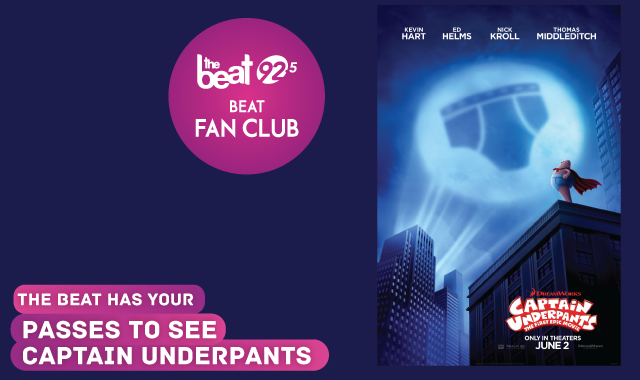 The Beat has your passes to the advance screening of Captain Underpants