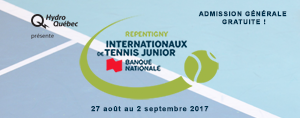 Les Internationaux de tennis junior de Repentigny