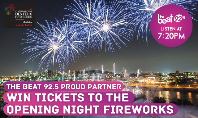 WIN tickets to Opening Night Fireworks
