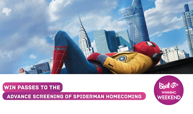 The Beat has your passes to the advance screening of Spiderman Homecoming