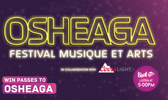 WIN passes to Osheaga