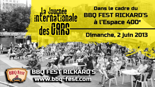 La journe internationale des gars - BBQ Fest Rickard's