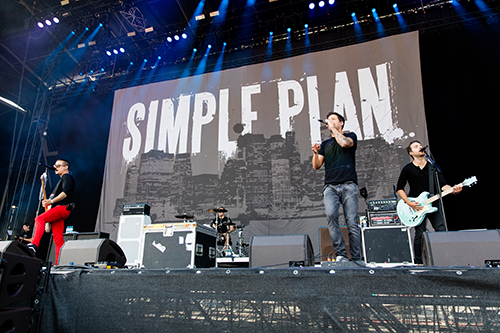 Simple Plan in Concert
