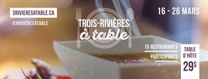 Trois-Rivières à table
