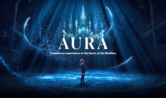 The Notre Dame Basilica comes alive with AURA