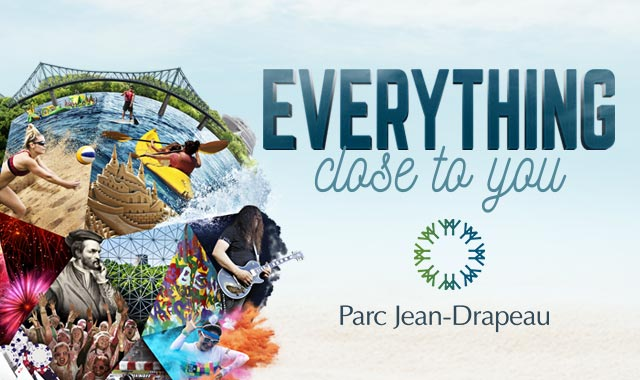 Parc Jean-Drapeau, make it your summer destination