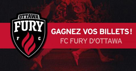 Gagnez vos billets pour le FC Fury