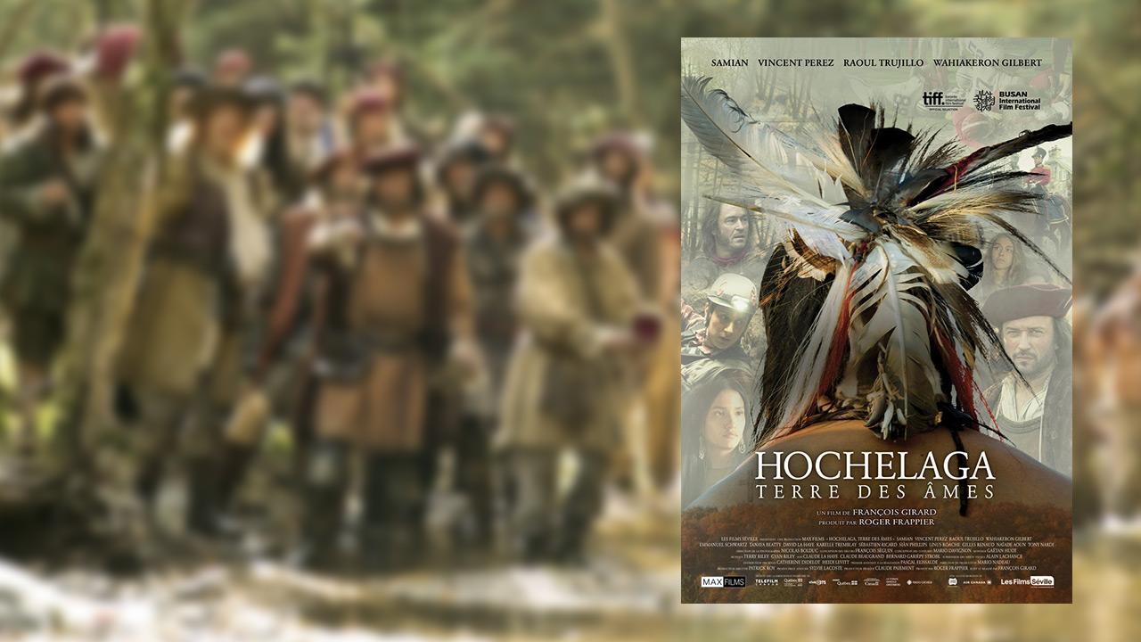 Première de film Hochelaga :Terre des âmes