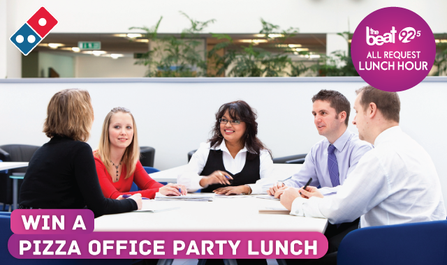 WIN a pizza lunch for you and your team!
