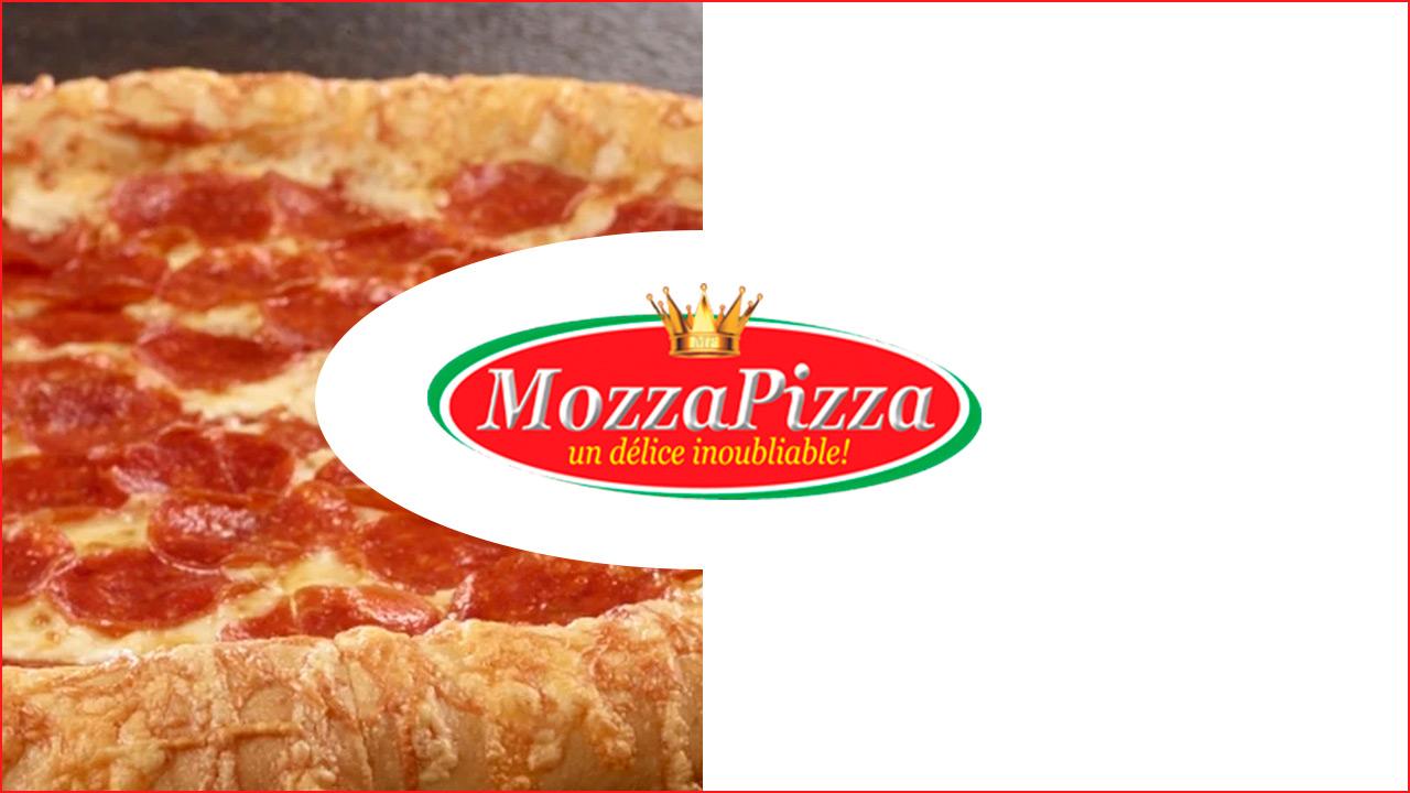Méga-bouffes Mozza Pizza