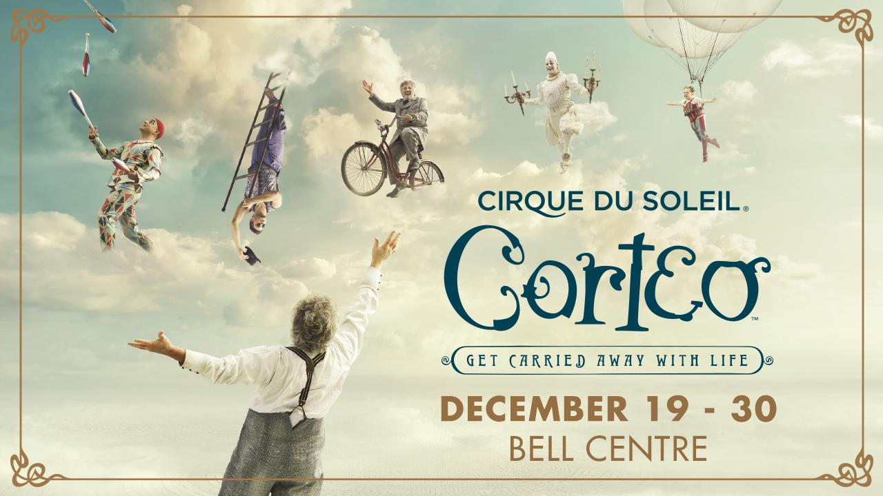 See Cirque du Soleil's Corteo