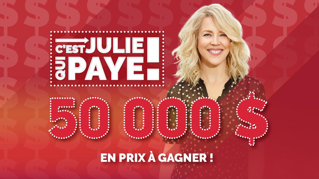 C'est Julie qui paye!