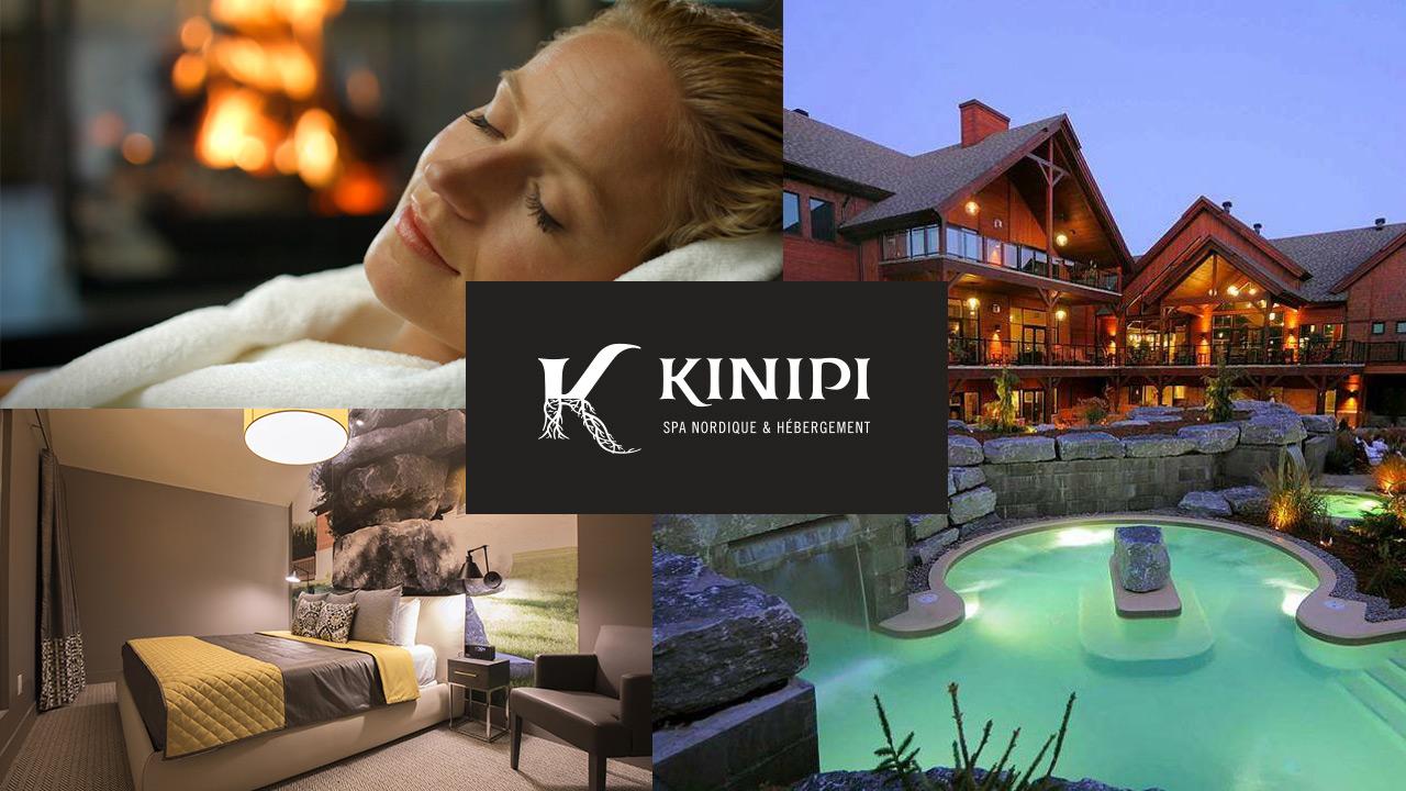 Offrez-vous le KiNipi,  spa nordique et hébergement