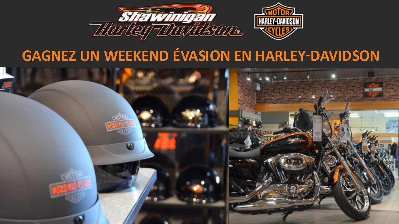 Weekend évasion en Harley-Davidson