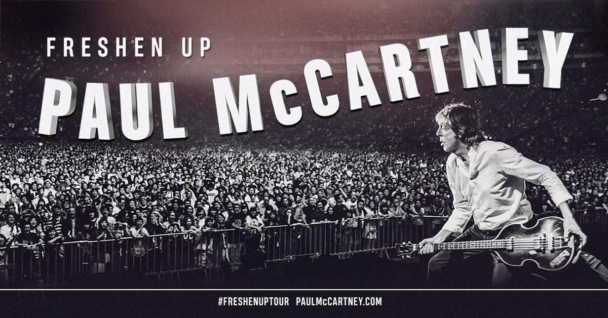 Gagnez vos billets pour Paul McCartney au Centre Vidéotron