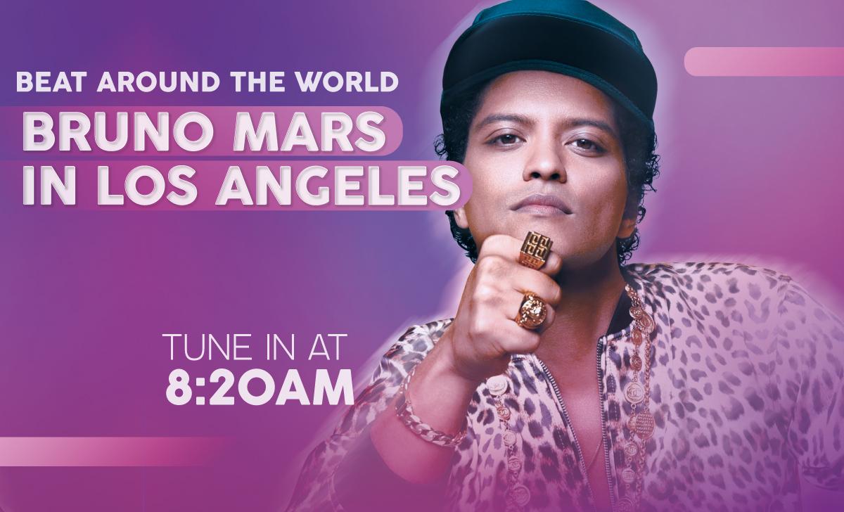 See Bruno Mars in LA