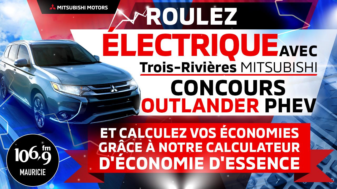 Montez à bord de la tournée électrique Mitsubishi Trois-Rivières !