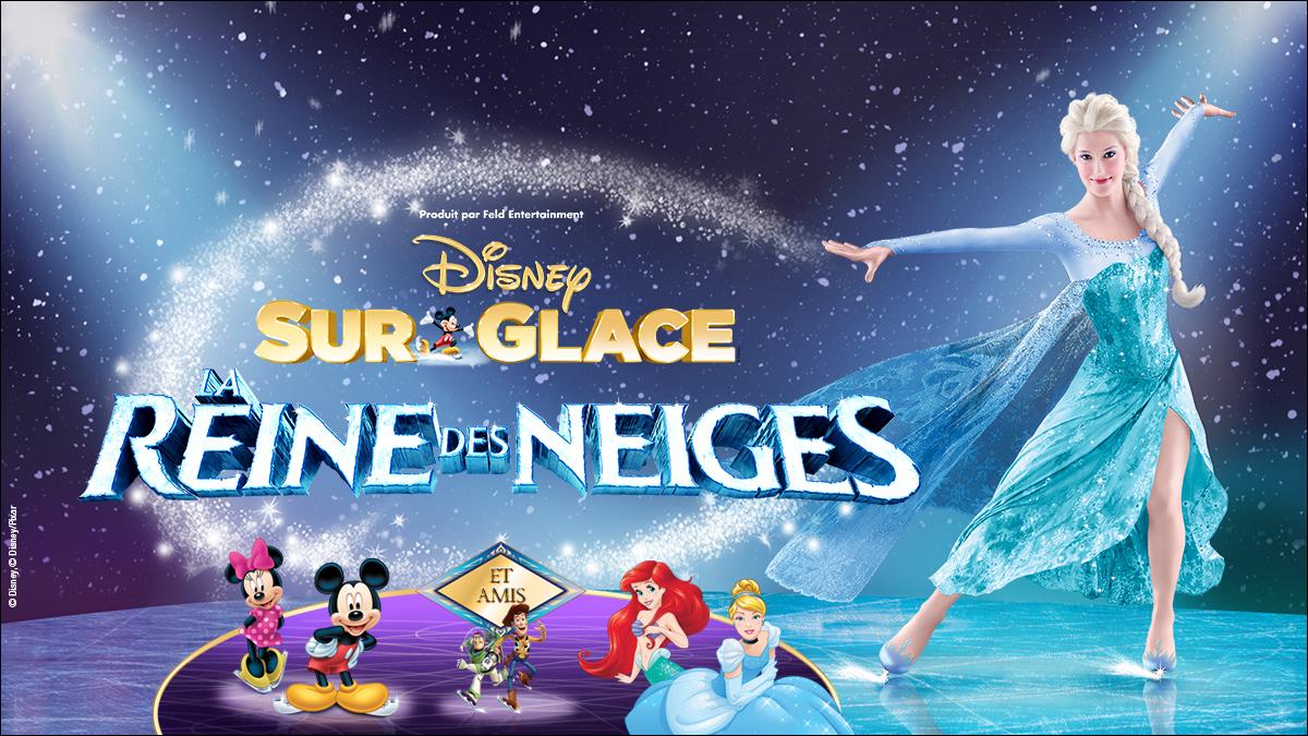 Voyez Disney sur glace: La Reine des Neiges!