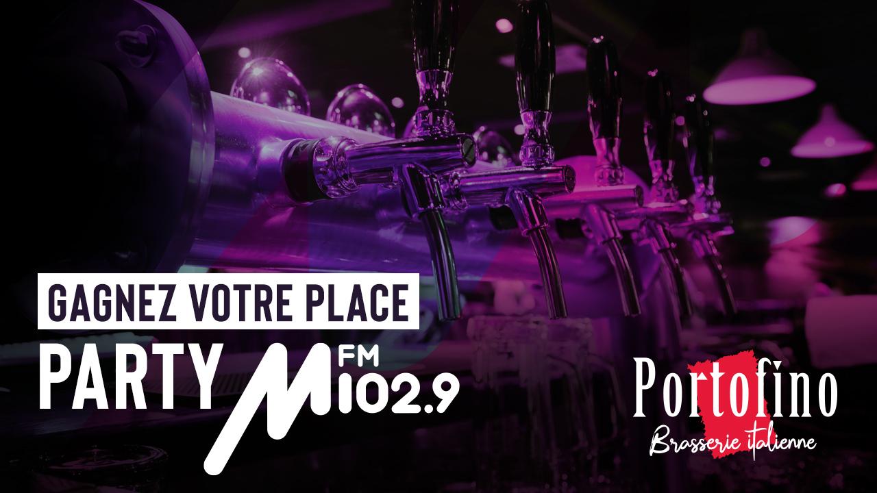 Le Party M FM au Portofino Brasserie Italienne