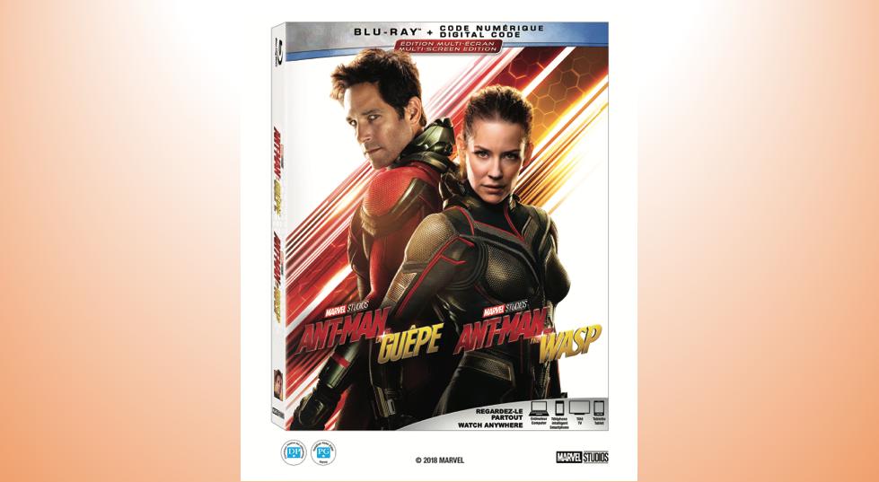Gagnez une copie Blu-ray de Ant-Man et la Guêpe