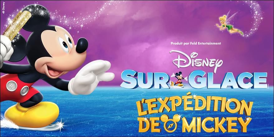DISNEY SUR GLACE | l'Expédition de Mickey