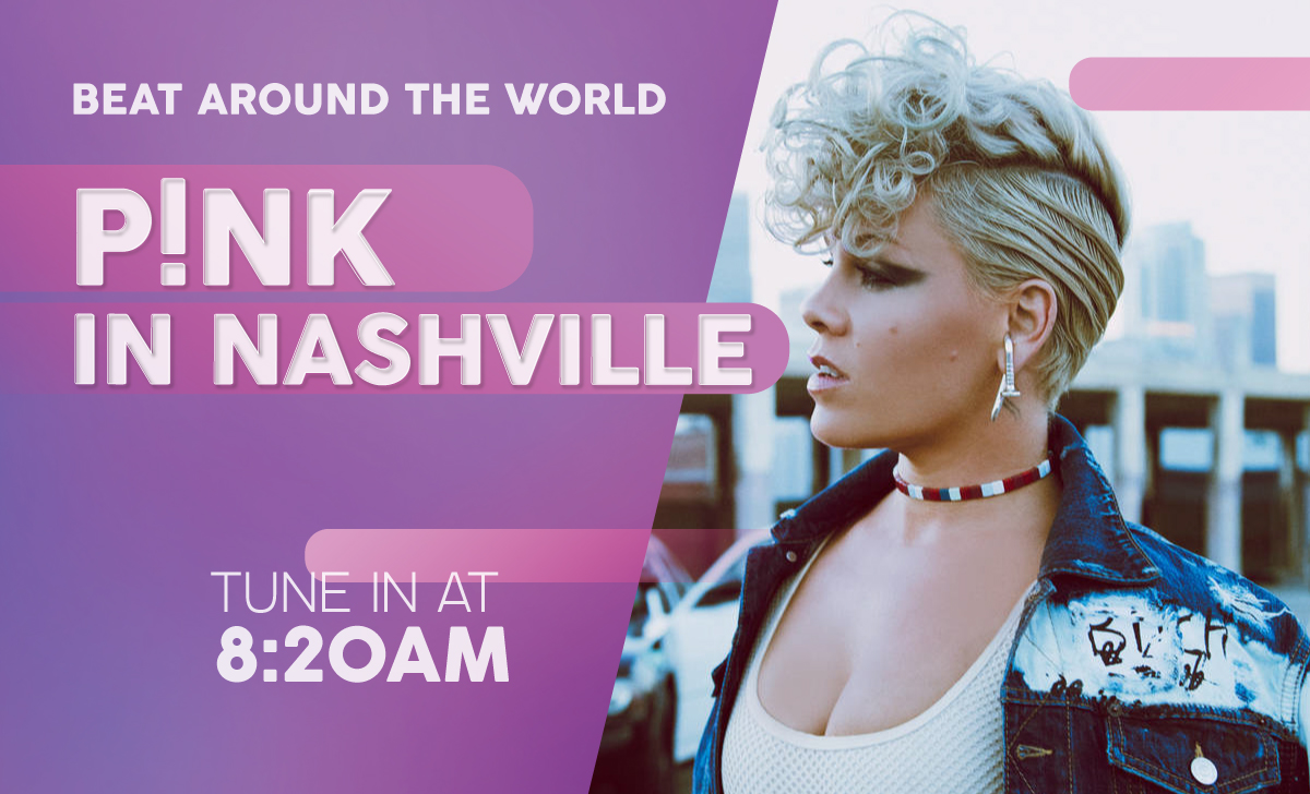 See P!NK in Nashville