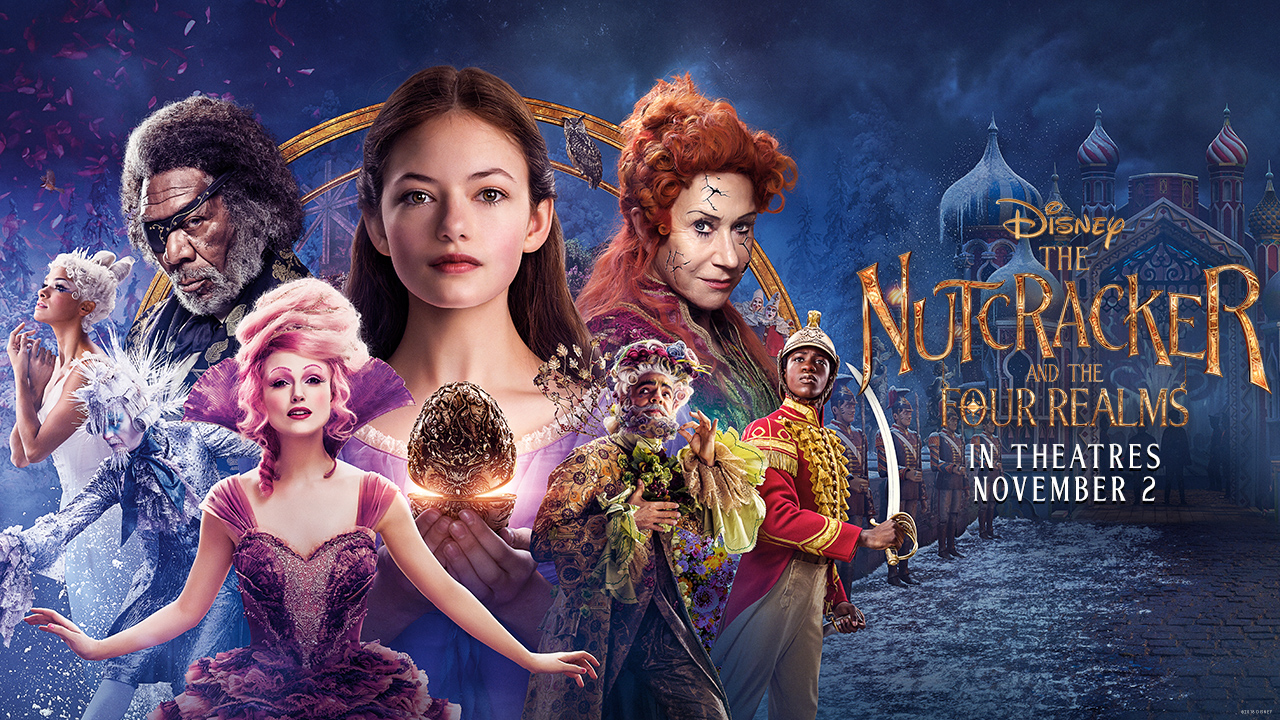 YOU COULD BE ONE OF THE FIRST TO SEE DISNEY?S NUTCRACKER AND THE FOUR REALMS