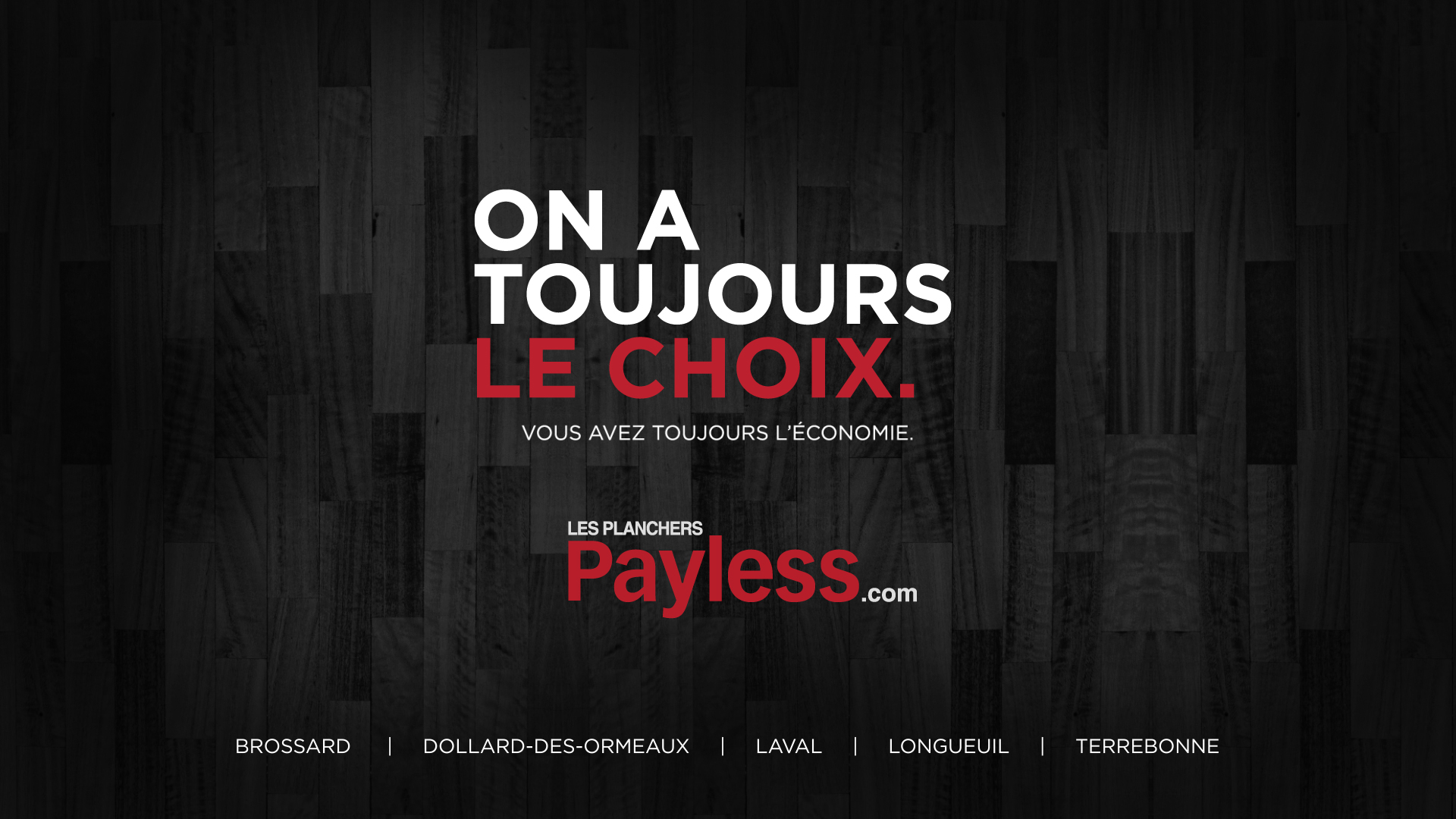 Planchers Payless,vous offre 1 000 $ pour compléter vos rénos
