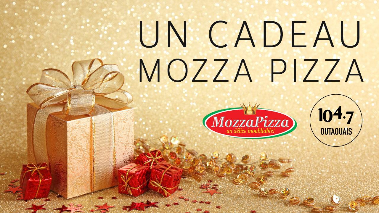 Un cadeau de Mozza Pizza