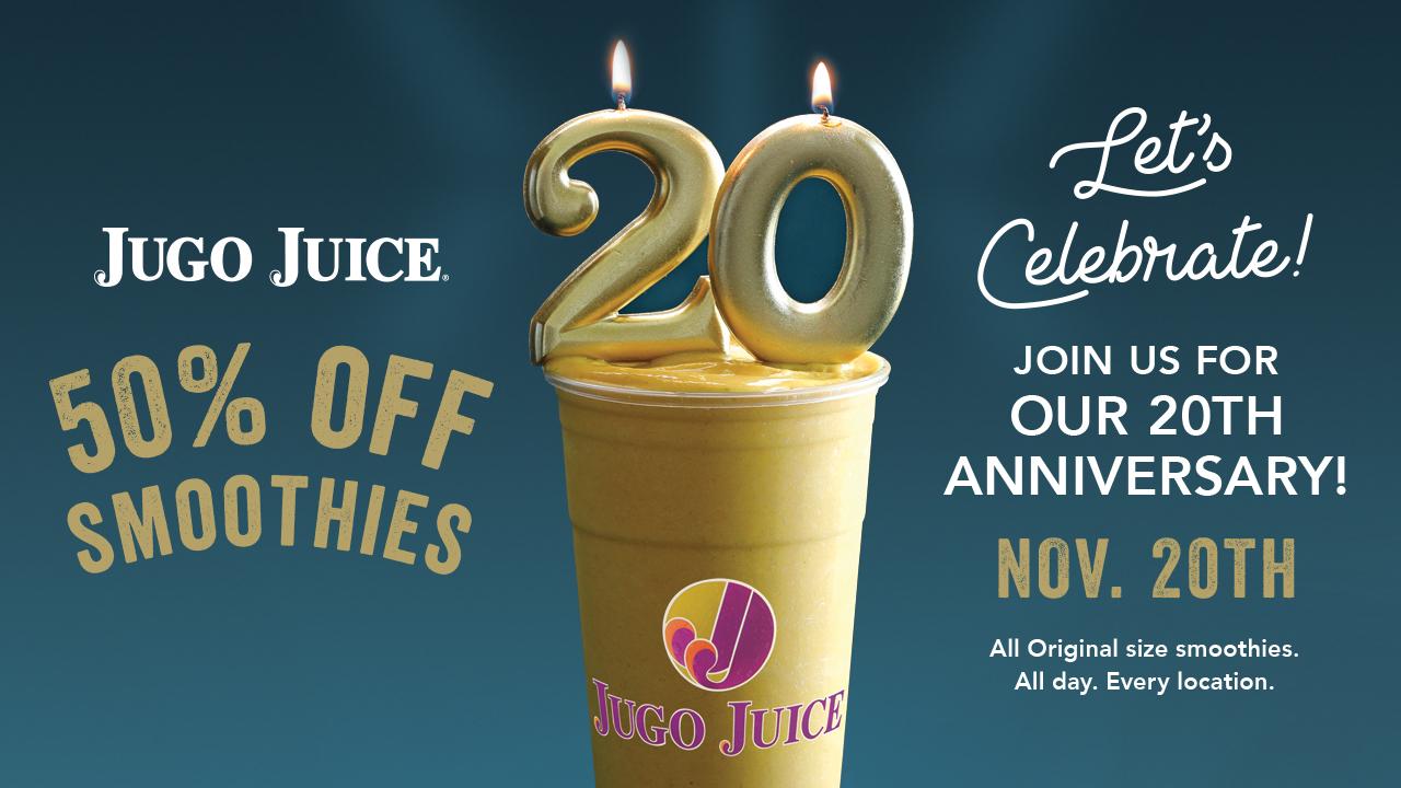 Win $100 at Jugo Juice!