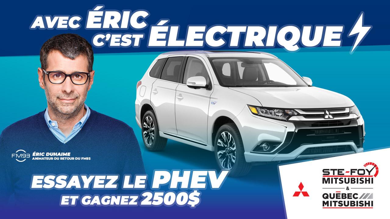 Avec Éric, c'est électrique!