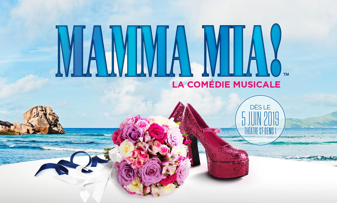 Gagnez vos billets pour la comédie musicale Mamma Mia!