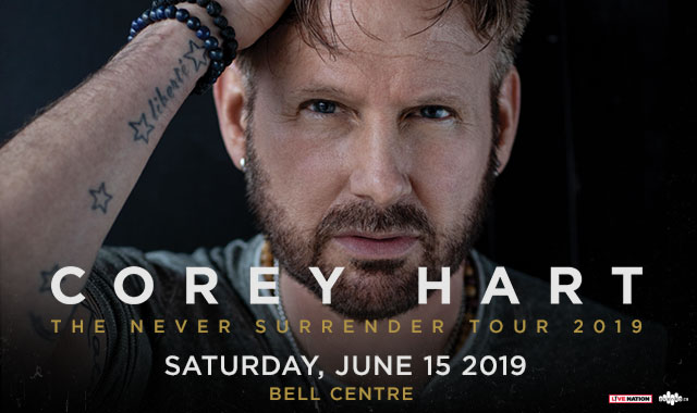 WIN tickets to see COREY HART