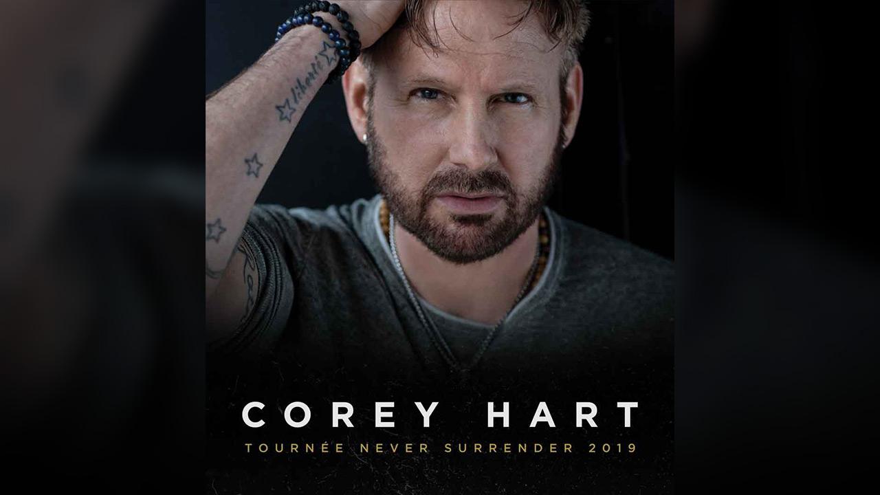 Vos billets pour Corey Hart!