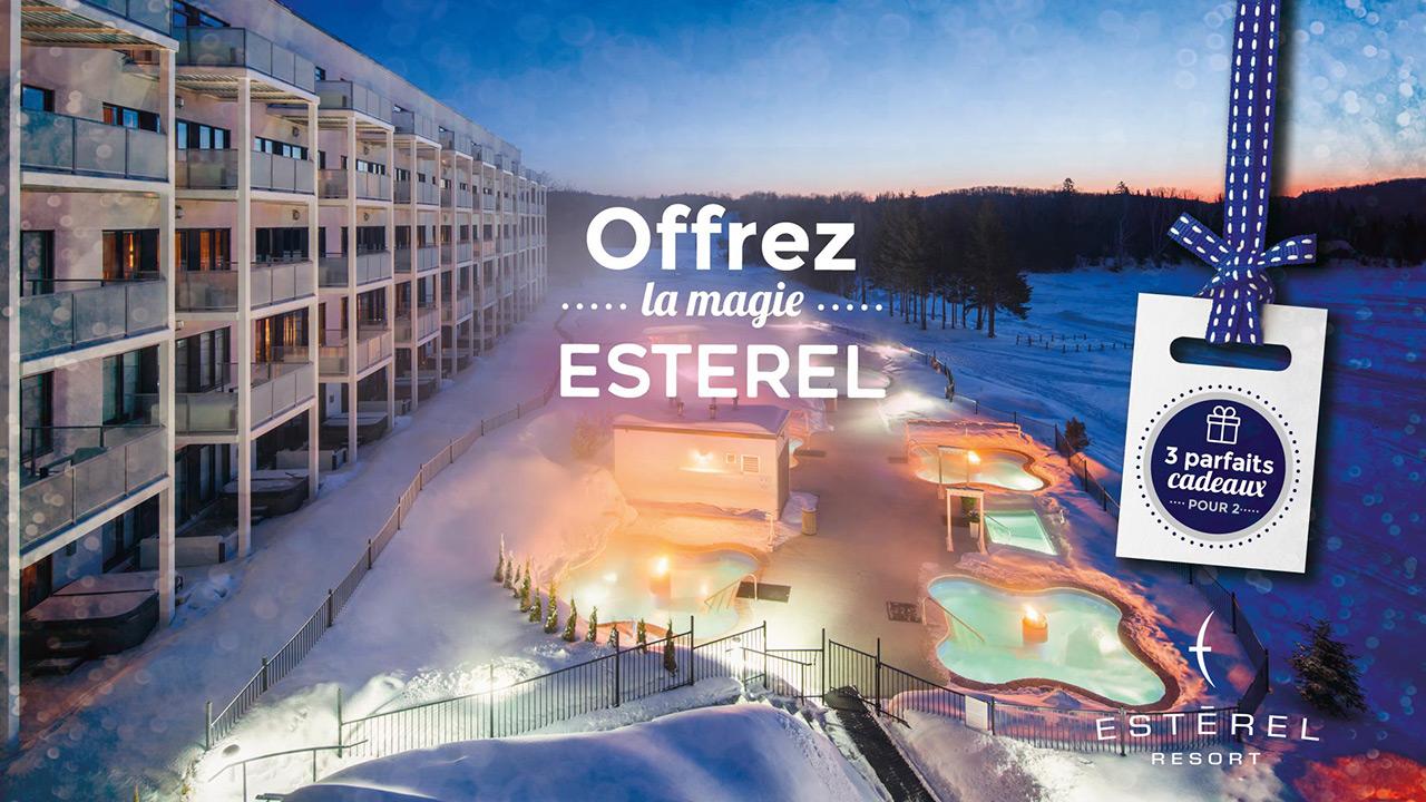Offrez-lui le parfait cadeau de Noël...Esterel Resort