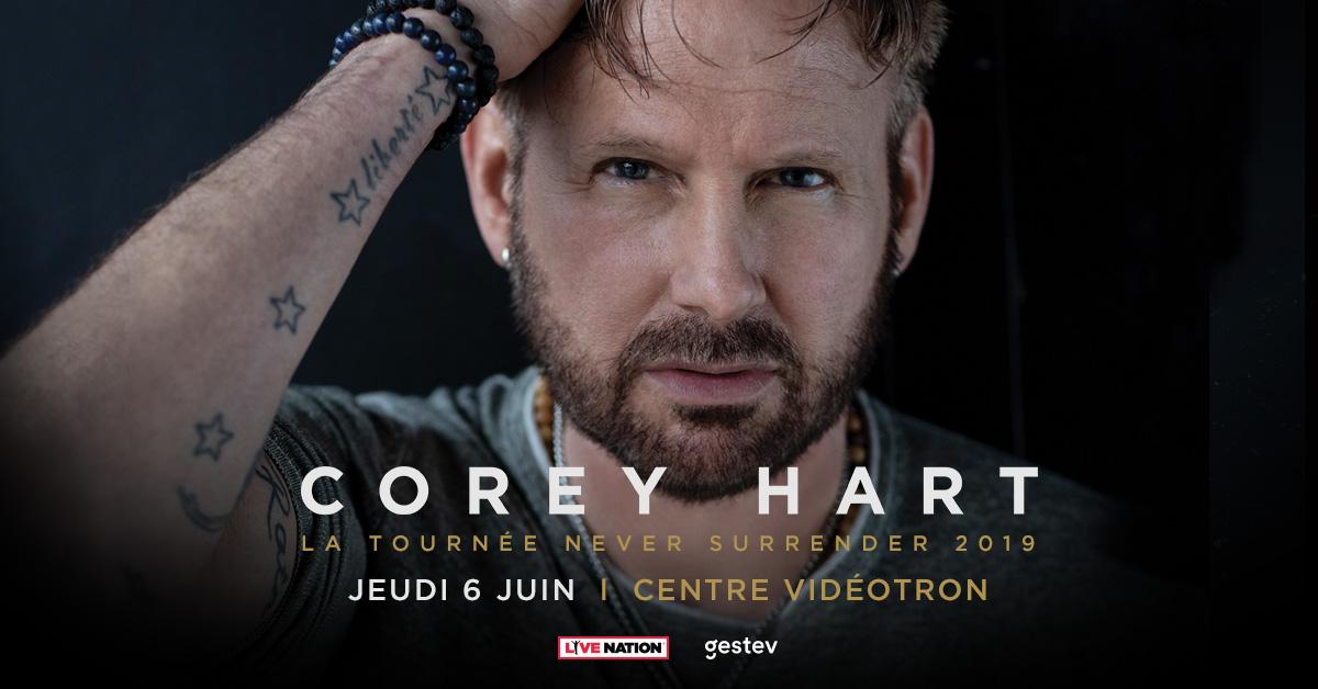 Gagnez vos billets pour Corey Hart au Centre Vidéotron