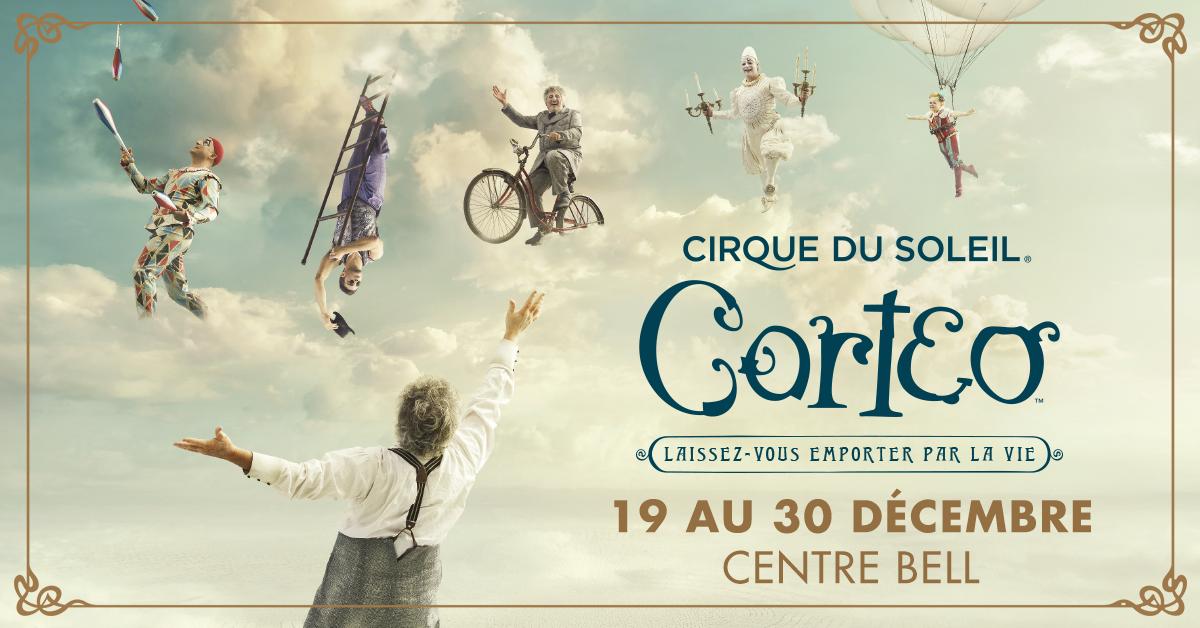 Pour Noël, offrez Corteo du Cirque du soleil à un proche!