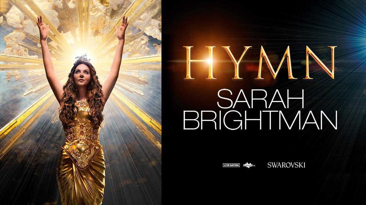Voyez Sarah Brightman à la Place Bell!