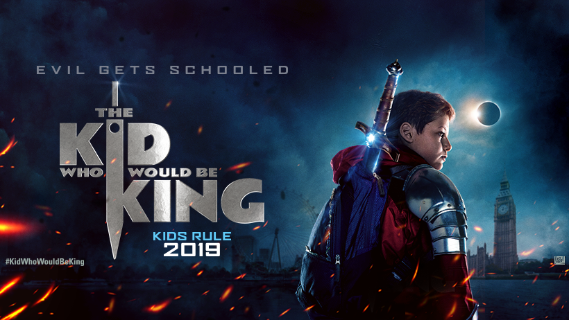 WIN a Family Pass to see THE KID WHO WOULD BE KING before everyone else!