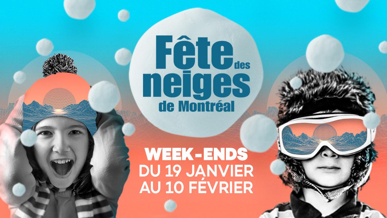 Viens découvrir et célébrer les joies de l'hiver à la Fête des neiges de Montréal