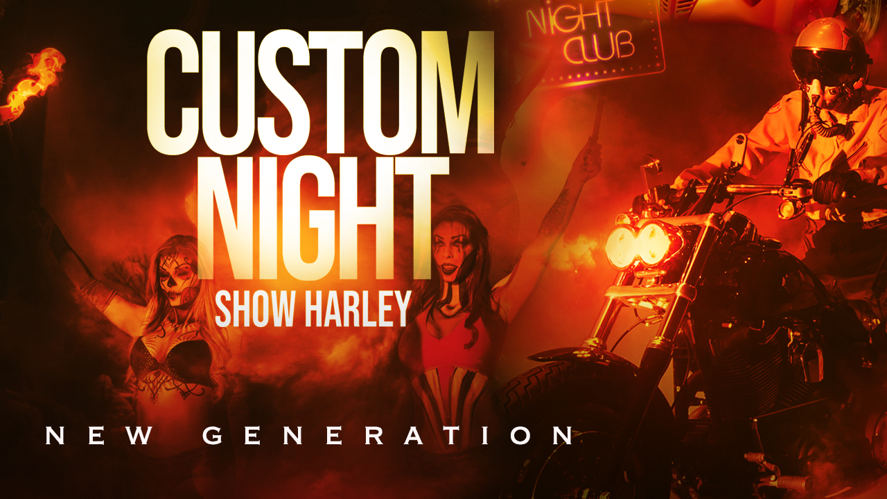 Vos billets pour le 40e Show Harley Custom NIGHT Molson Export!